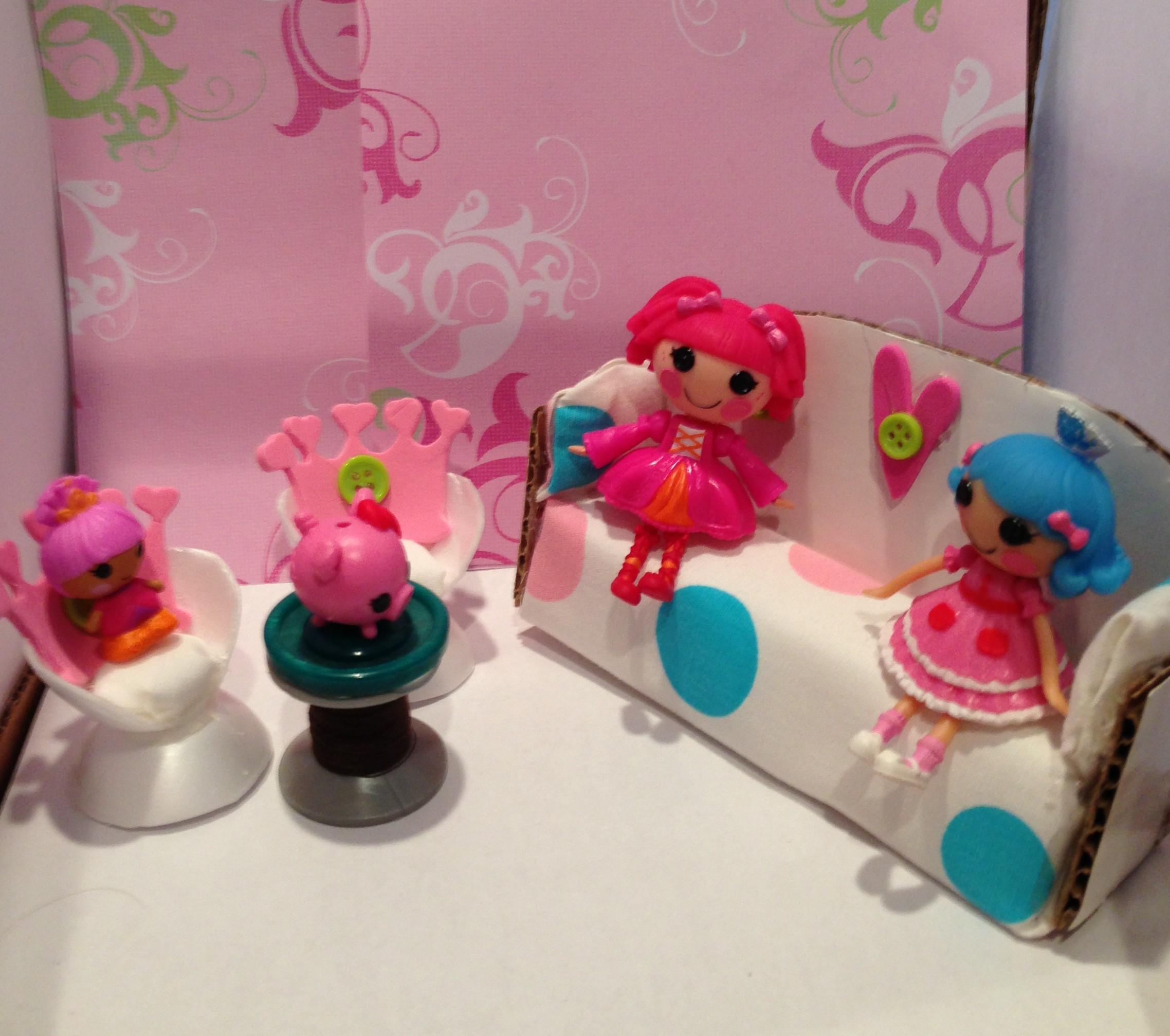 Mini Lalaloopsy Dollhouse Faking It Mostly