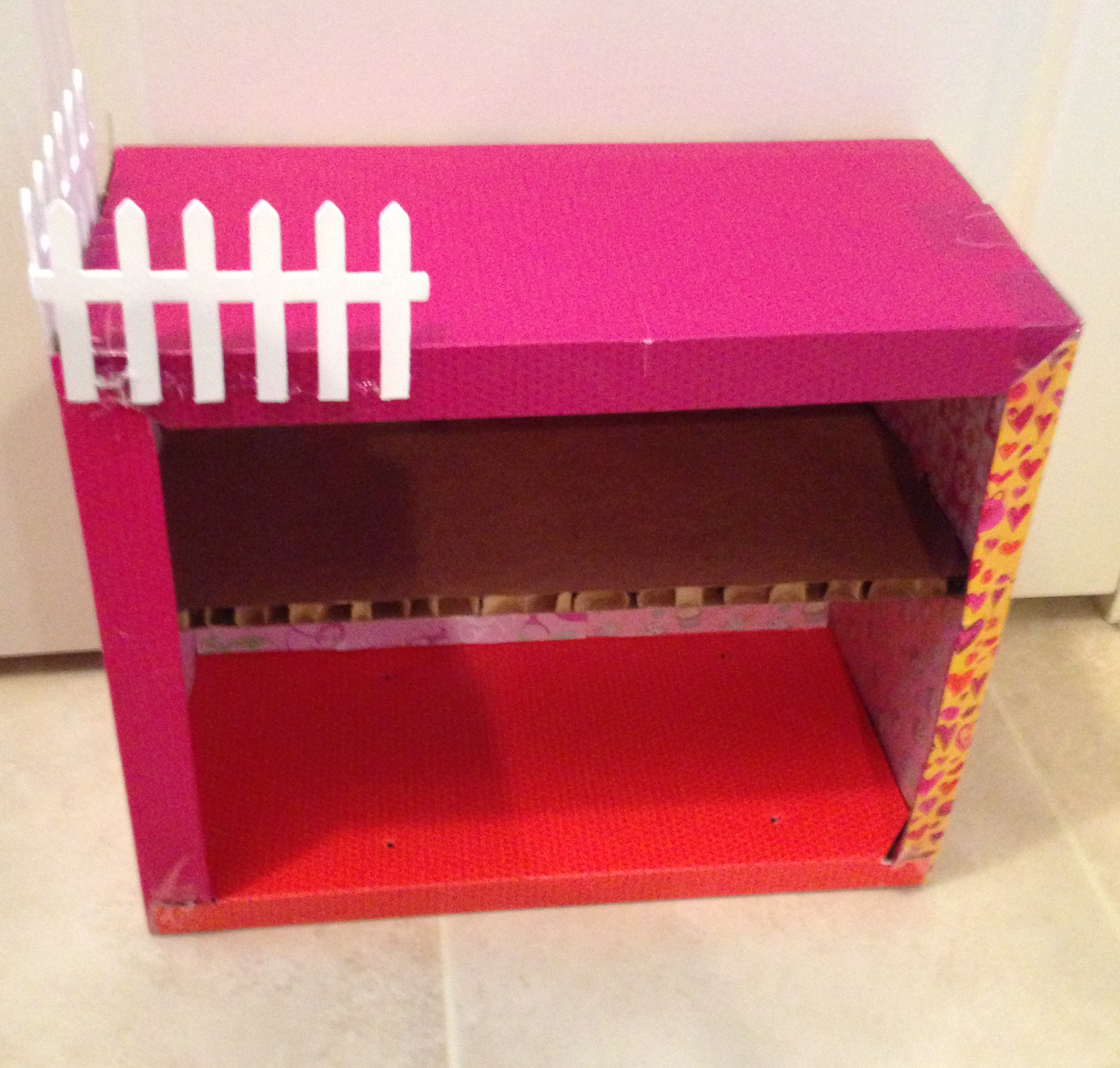 This Box Once Held The Our Generation Bathtub That We Purchased For The 18  Inch Dollhouse. I Like These Boxes Because Not Only Are They Sturdy, ...